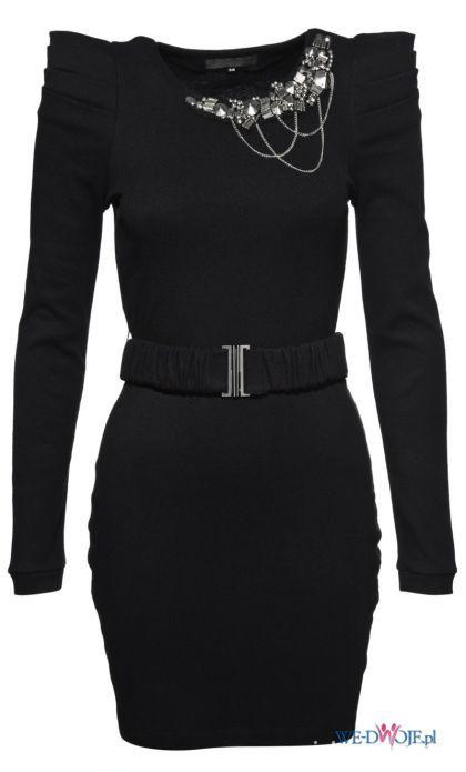 Ubrania czarna sukienka new yorker amisu