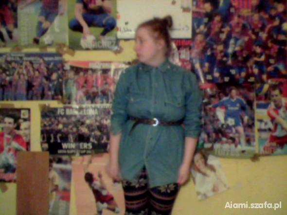 Mój styl jeans i legginsy