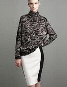 NOWA spódnica czarno biała ZARA Woman L