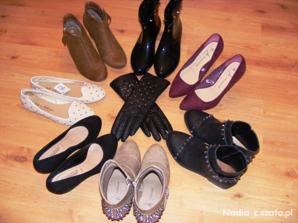 Moja skromna kolekcja bucików