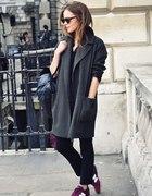 płaszcz & new balance