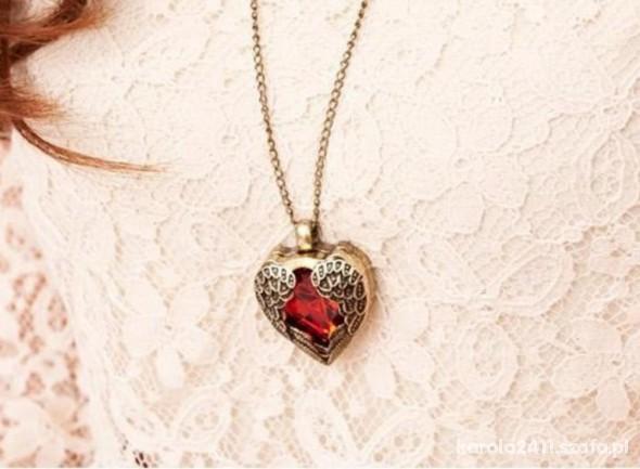Naszyjnik serce