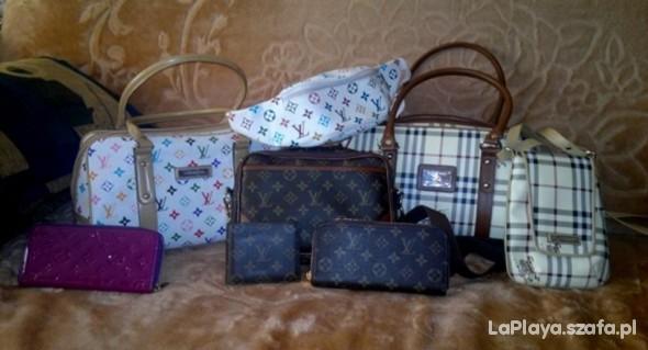 kolekcja torebek lv e burberry...