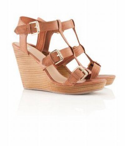 Sandały na koturnie H&M