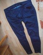 Tregginsy jeansy skinny niskie biodrówki XL 42