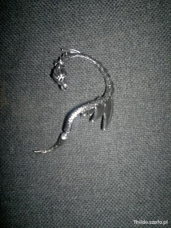 Kolczyki Nausznica smok