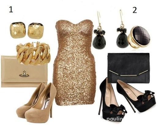 Eleganckie złoto