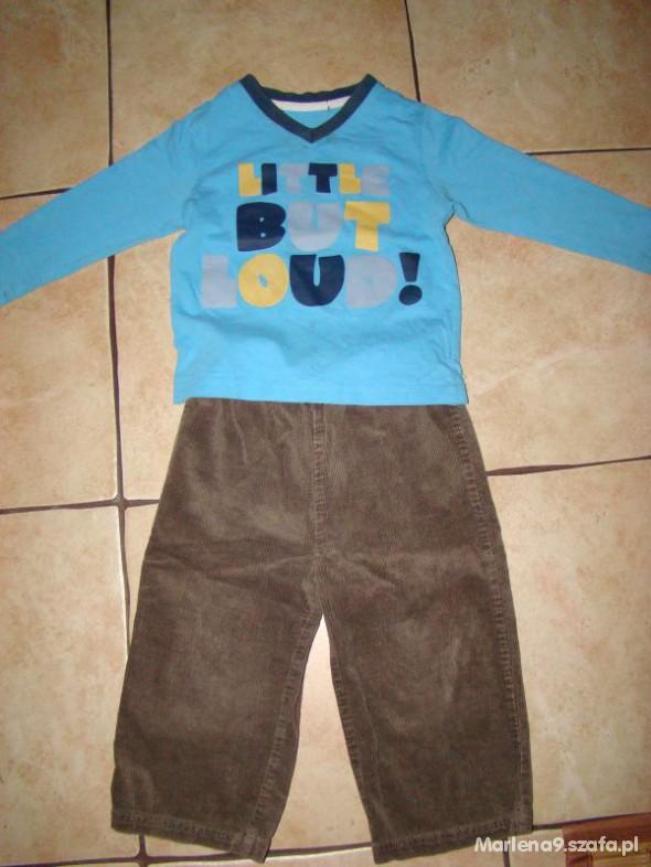 Komplety Spodnie 86 i gratis bluzeczka