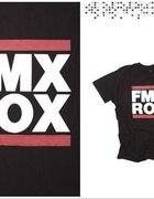 t shirt FMX ROX...