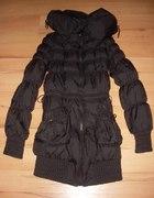 Czarna kurtka zimowa...