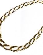 Naszyjnik w złocie Ogniwka Łańcuch