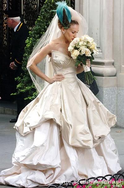 Na specjalne okazje Suknia ślubna Carrie Bradshaw