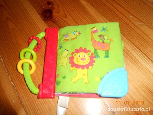Zabawki książeczka z materiału