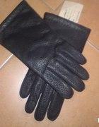 skórzane rękawice męskie 100 procent skóra