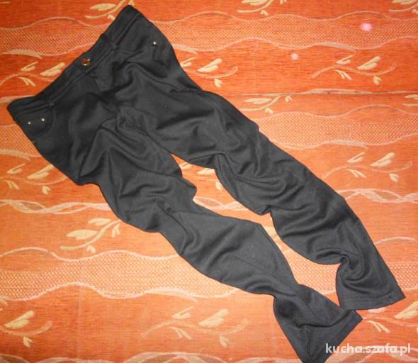 Spodnie Czarne Tregginsy