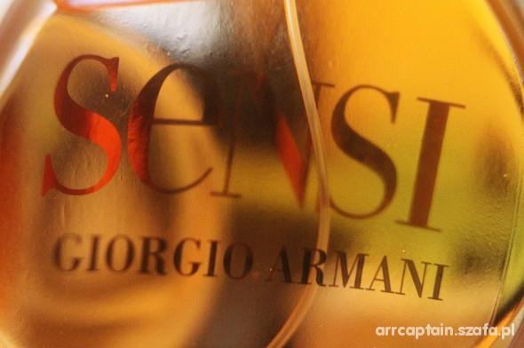 Sensi Giorgio Armani...