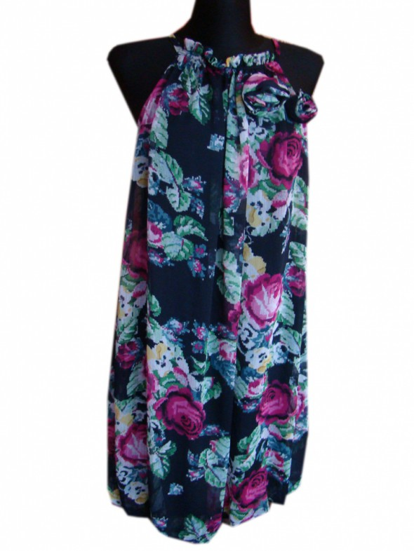 Suknie i sukienki Sukienka róże S M L