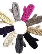 Jednopalczaste rękawiczki polar 5 kolorów