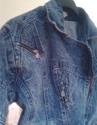 jeansowa ramoneska marmurek