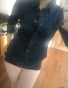jeansowa ciemna koszula 38