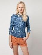 bershka jeans floral S M