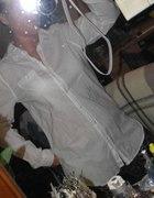 h&M biała koszula dłuższa r 36 38