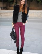 Burgund pants