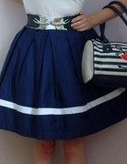 Marynarska spódnica PIN UP