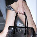 prada clear bag