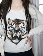 TIGER tygrys bluza college GINA TRICKOT