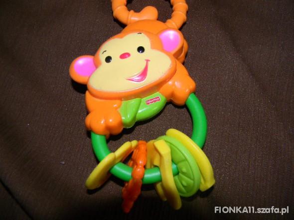 Zabawki małpka fisher price