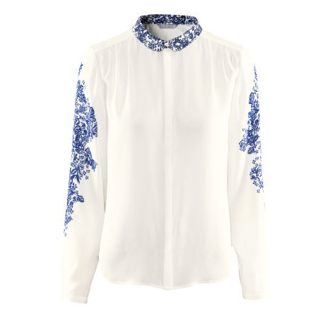 Koszula H&M w niebieskie kwiatki