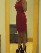 elegancka czerwien