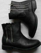biker boots cropp...
