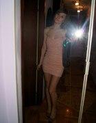 Piękna różowa sukienka S