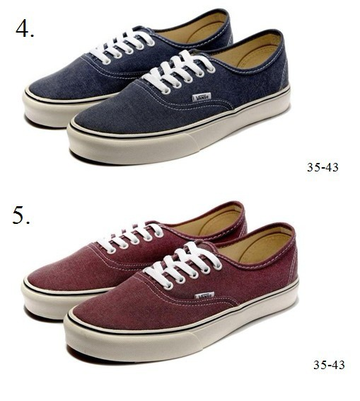 vans bordowe authentic