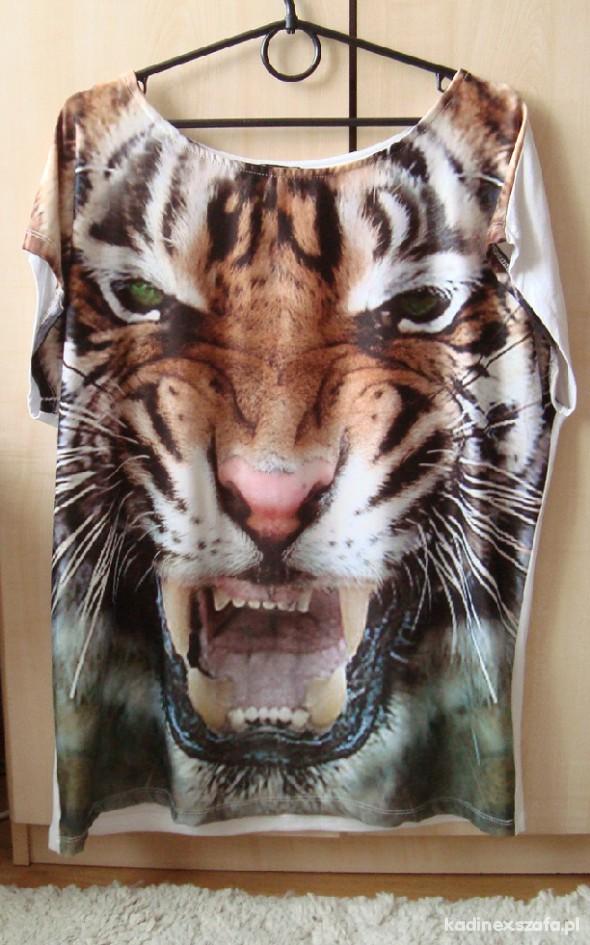 Bluzka oversize tiger