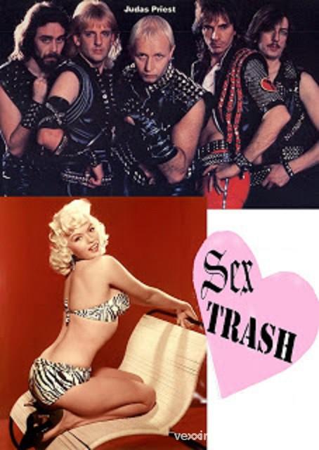wycwiekowana bielizna Nyc Sex Trash