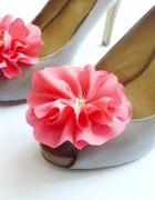 spinki do butów duże kwiaty