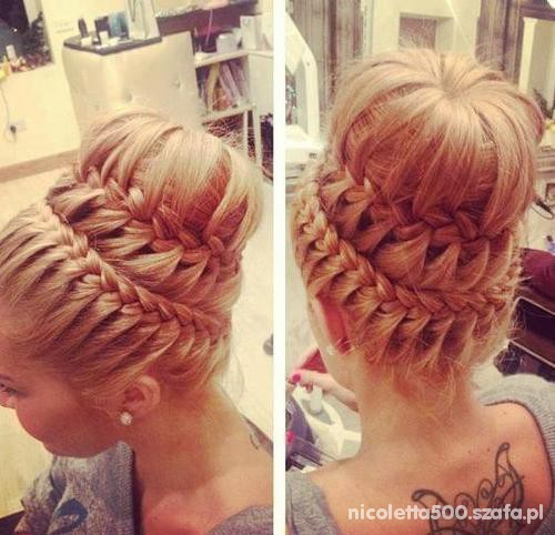 Przepiękna fryzura