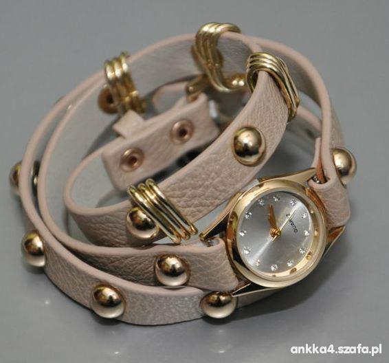 Tanio zegarek nude długi Asos RIVER ISLAND