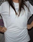 Biała bluzeczka z motywem panterki