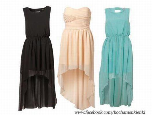 3 wieczorowe sukienki