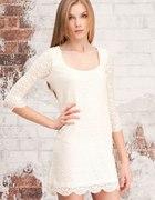 Nowa koronkowa sukienka stradivarius