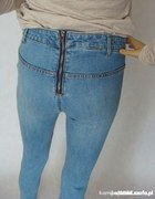 Legginsy leginsy spodnie h&m 36 S zip