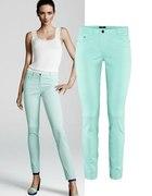 miętowe spodnie HiM