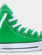 Trampki Converse 37 wysokie zielone...