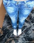 spodnie marmur gumki cwieki