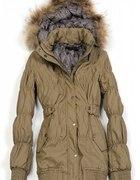 Moja kurtka na zimę bardzo ciepła eco skórka