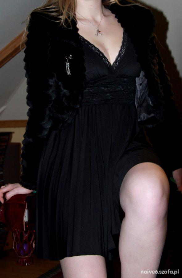 Eleganckie Czarno